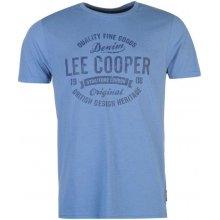 Lee Cooper Class T Shirt Mens White