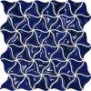 Tubadzin-Zien Barcelona - obkládačka mozaika 31,9x32,4 modrá M-Barcelona 3A 31,9x32,4