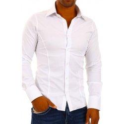50f5c4798d97 Redbridge pánská Bílá Slim Fit košile - dlouhý rukáv   White ...