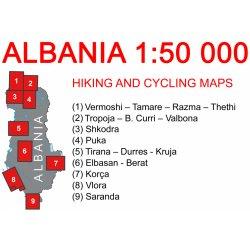 Albanie 1 Turisticka Mapa Od 239 Kc Heureka Cz