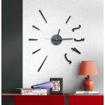 Samolepící hodiny G21 Fashion Style HM4-WSC-10E015