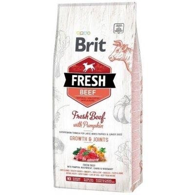Brit Fresh Beef & Pumpkin Puppy Large Bones & Joints 2,5 kg