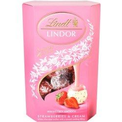 Lindt Lindor Strawberry and Cream Lindor 200g