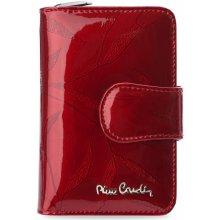 Pierre Cardin Dámská peněženka kůže ozdobný vzor červená 8cf08e2070