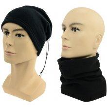 8c27d1e986b Sulov Multifunkční šátek 2v1 Fleece černý