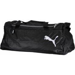 b708ba4a3c taška a aktovka Puma FUNDAMENTALS SPORTS BAG M 07552801 BLACK 60 l