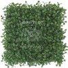 Umělý živý plot - zimomráz tmavě zelený 50x50 cm