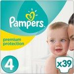 Pampers Premium protection 4 39 ks