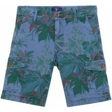 Gant šortky printed flower cargo shorts
