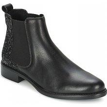 Betty London kotníkové boty NOLLA Černá