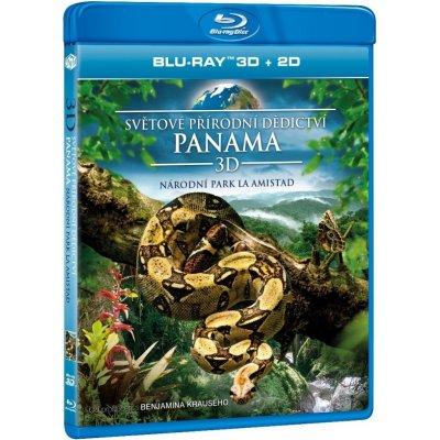 Světové přírodní dědictví: Panama - Národní park La Amistad 3D Blu-ray