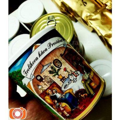 Frolíkova čerstvá Káva Prezident mletá 250 g