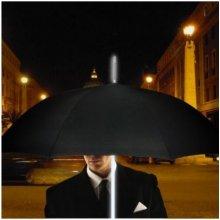 Svítící deštník Bílá