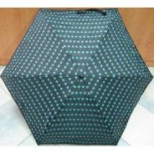 Skládací mini deštník Blue Drop A378DC černý/ hvězdy