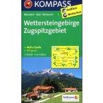 Wettersteingebirge Zugspitzgebiet 1:50t kompas 5