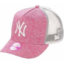 01070a89981 New Era New York Yankees Flecked Trucker Pink White Snapback růžová   bílá    růžová