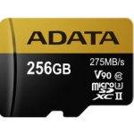 ADATA Micro SDXC 256GB UHS-II U3 AUSDX256GUII3CL10-C