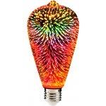 SANICO LED vánoční žárovka 3D - E27 - 3,5W - ST64