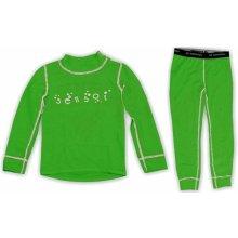 Komplet SENSOR Double Face dětský zelený