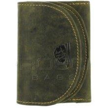 Greenburry Kožená peněženka mini 316-30 olivová