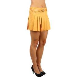 Glara áčková sukně žlutá od 335 Kč - Heureka.cz cc49beaee6