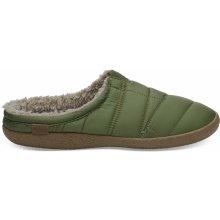 Toms Pánské zelené pantofle Quilted Berkeley