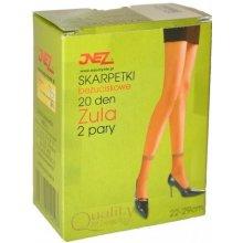 Inez beztlakové ponožky Zula Elastil A'2 béžová