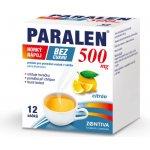 Paralen horký nápoj bez cukru 500mg por.plv.sol.scc.12