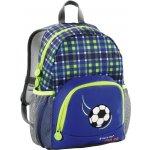 Hama batoh Step by Step Junior Little Dressy Fotbal modrý/žlutý