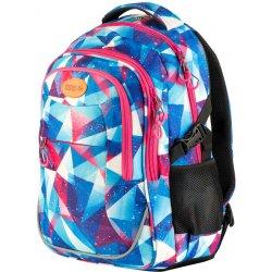 Easy Batoh sportovní motiv modro-růžovo-fialový školní batoh ... 9dfcb099f0