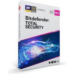 Bitdefender Total Security 2020 5 lic. 1 rok (TS01ZZCSN1205LEN)