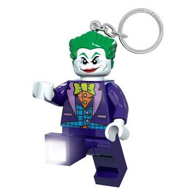Přívěsek na klíče LEGO Licence DC Super Heroes Joker svítící figurka