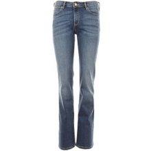 Wrangler Bootcut Auth modré dámské jeans 66ea0eee51