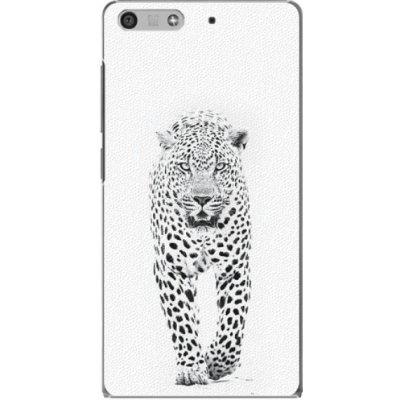 Pouzdro iSaprio White Jaguar Huawei Ascend P7 Mini