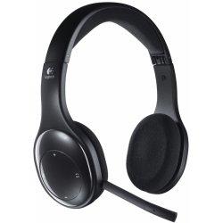 Sluchátka Logitech Wireless Headset H800