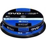 Intenso DVD+R DL 8,5GB 8x, cakebox, 10ks (4311142)