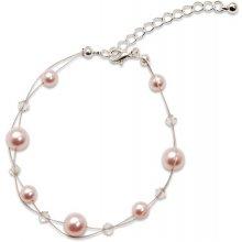 Náramek s perlami Sunny Pearl Rosaline GM Collection 421102