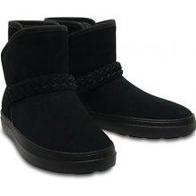 2ca9e6f16 Crocs Dámské zimní boty LodgePoint Suede Bootie W Black 204798-001