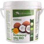 Zdravý den Bio kokosový olej bez vůně 4000 ml