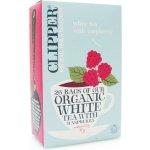 Clipper čaj organic white tea + Raspberry 25 x 2 g