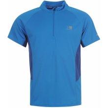 Karrimor Zipped Short Sleeved T Shirt Mens Classic Blue
