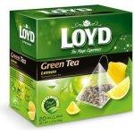 Loyd Tea Citron, zelený čaj 20 sáčků