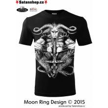 unisex Satan Moon Ring Design