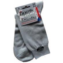28ada2c7195 C K NV pánské světle šedé ponožky - ČESKÁ VÝROBA - 100% bavlna