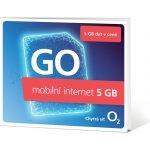 Mobilní internet O2 předplacený 5GB Mobilní internet, předplacený, 5GB, pouze SIM, pro tablety, routery, notebooky, se slotem na SIM, pouze SIM karta SMALLGO.OV5GB