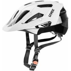 Přilba, helma, kokoska Uvex QUATRO WHITE MATT-BLACK 2017