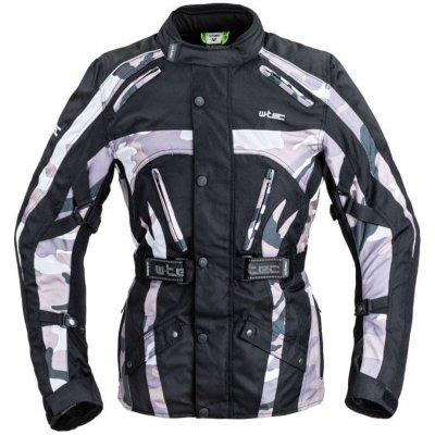 W-TEC Pánská moto bunda Troopa - barva Black Camo, velikost S