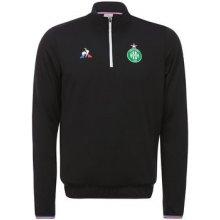 Le Coq Sportif Trička s dlouhými rukávy ASSE Training Sweat Černá