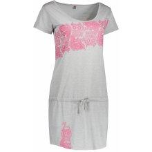 Altisport dámské šaty Purne šedá 0bcdf62885