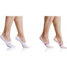 dámské sneaker ponožky INVISIBLE SOCKS - SET 2ks - dámské neviditelné ponožky vhodné do sneaker bot